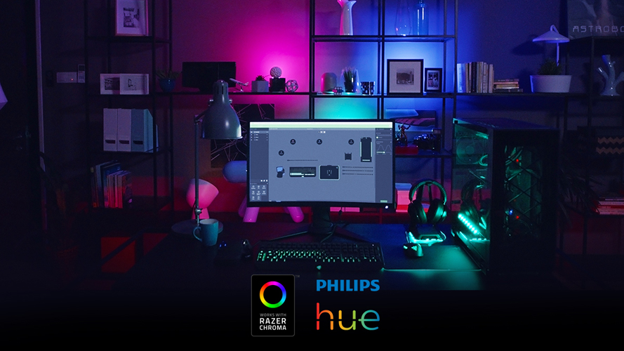 Philips Lighting And Razer Join Forces