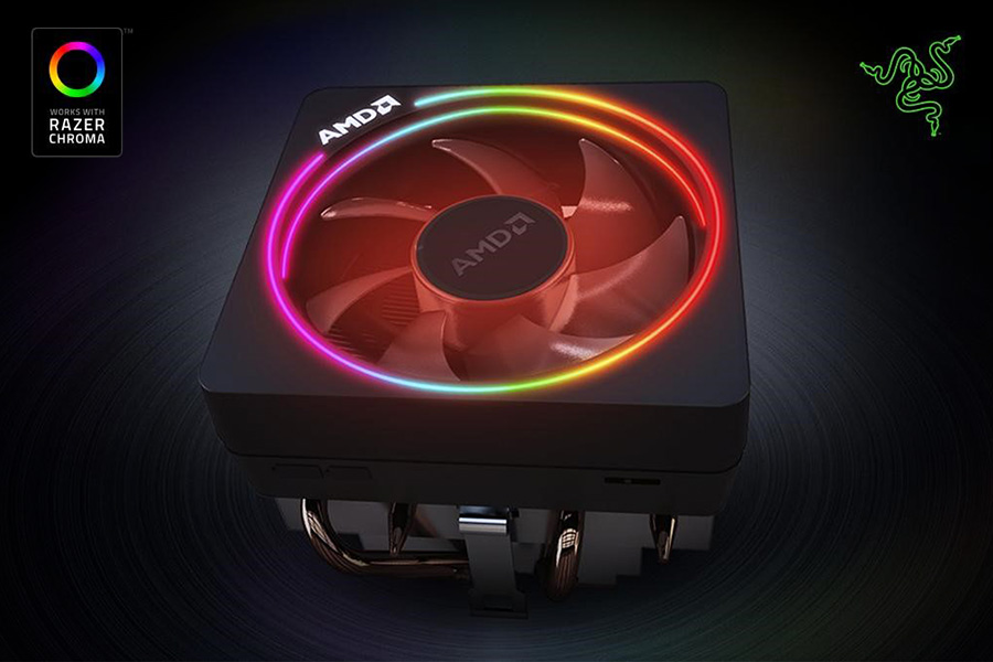Light Up Your Amd Wraith Prism Cooler With Razer Chroma Razer Press