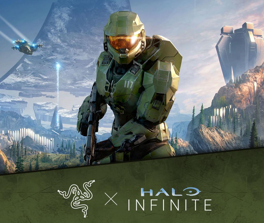 Razer Halo Infinite Gaming Peripherals